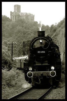 BR 52 auf der Lahntalbahn