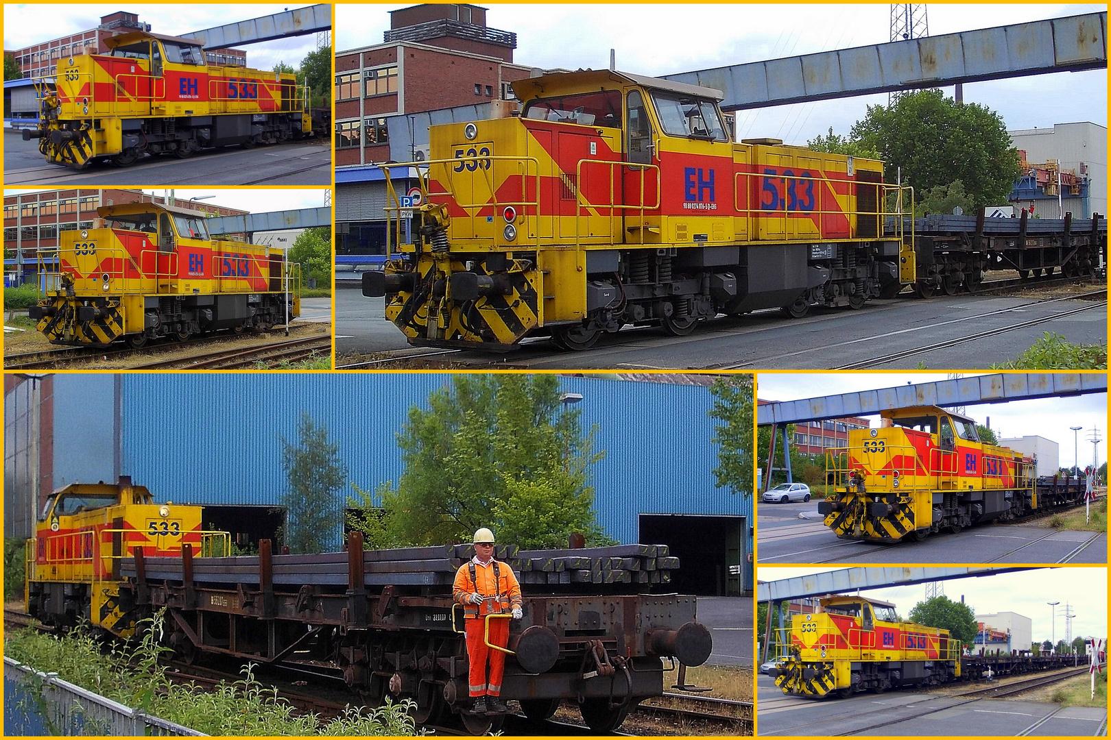 BR 533 E+H Duisburg Hochfeld