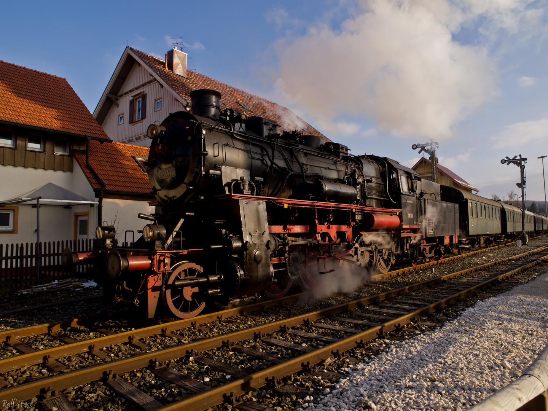 BR 58 in Münsingen