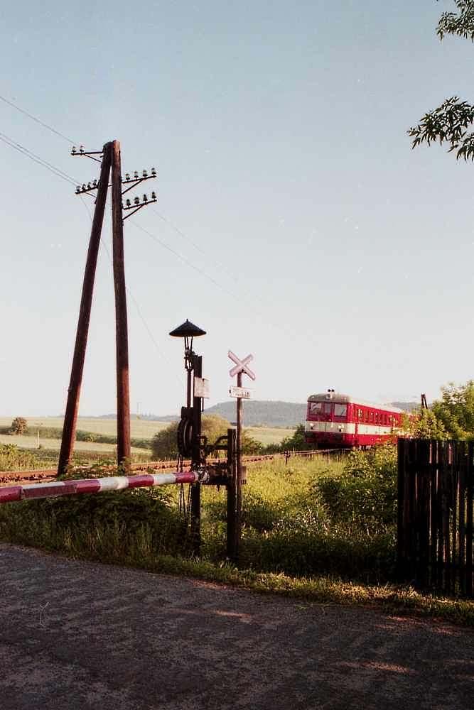 BR 831 auf der Strecke Zatec- Plzen