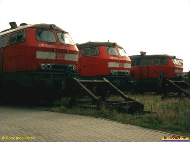 BR218 Treffen im BW Westerland