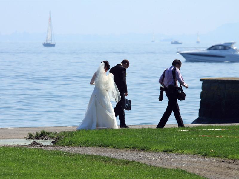 """Bräutigam: """"Das ist der schönste Tag meines Lebens"""""""