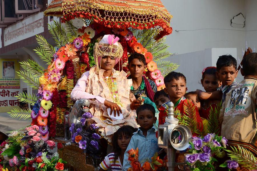 Bräutigam in Hanumangarh