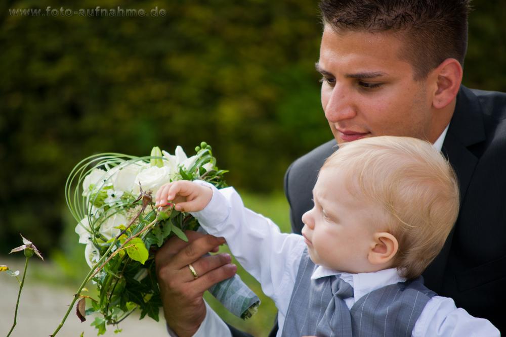 Bräutigam/Vater und Sohn