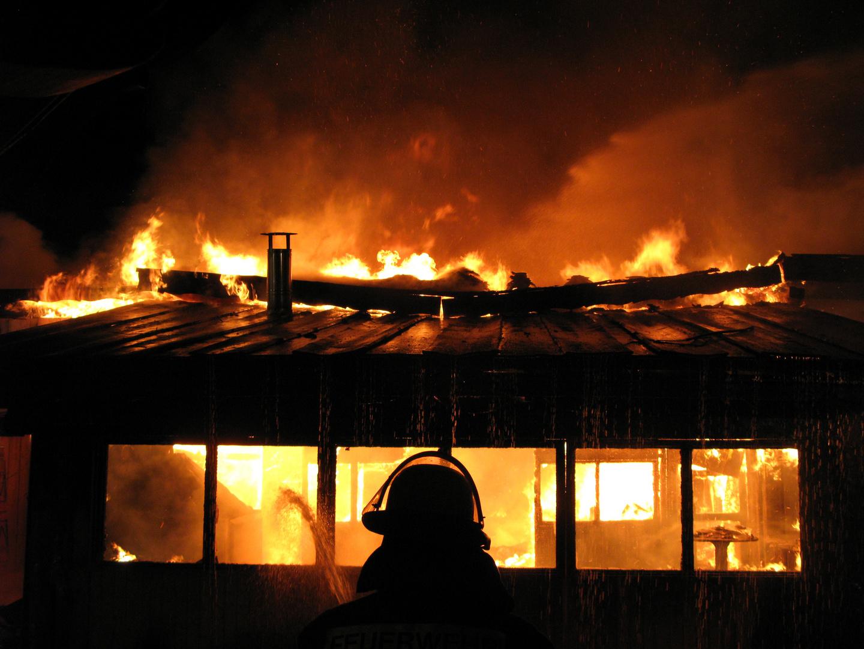 Brand einer Gastwirtschaft