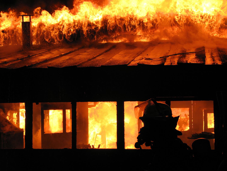 Brand einer Gastwirtschaft in Warstein