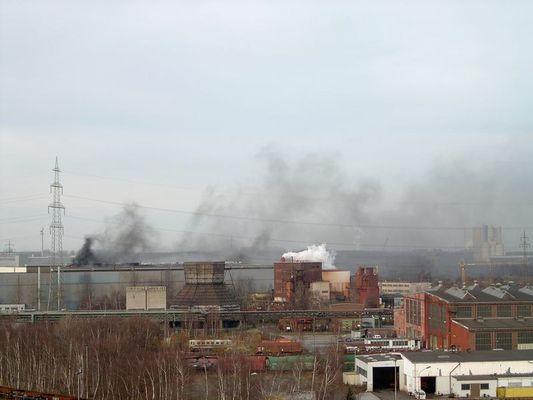 Brand Westfalenhuette Dortmund