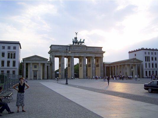 Brandenburger Tor 2003