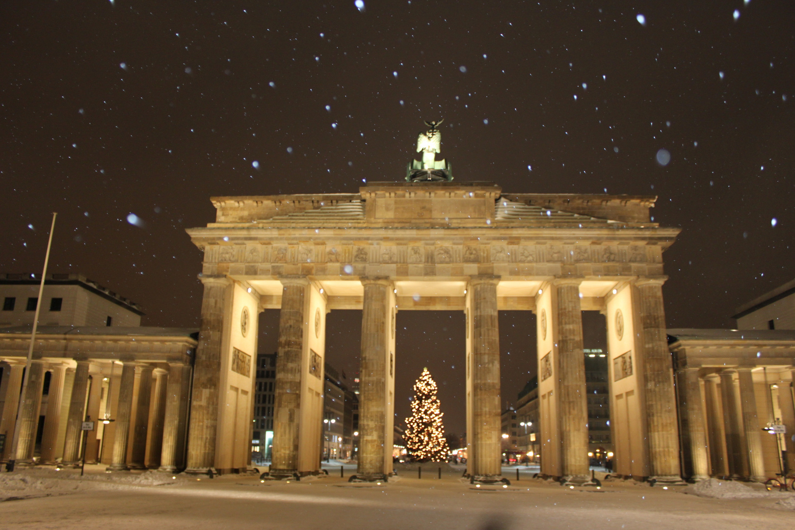 Brandenburger Tor 25.12.2010