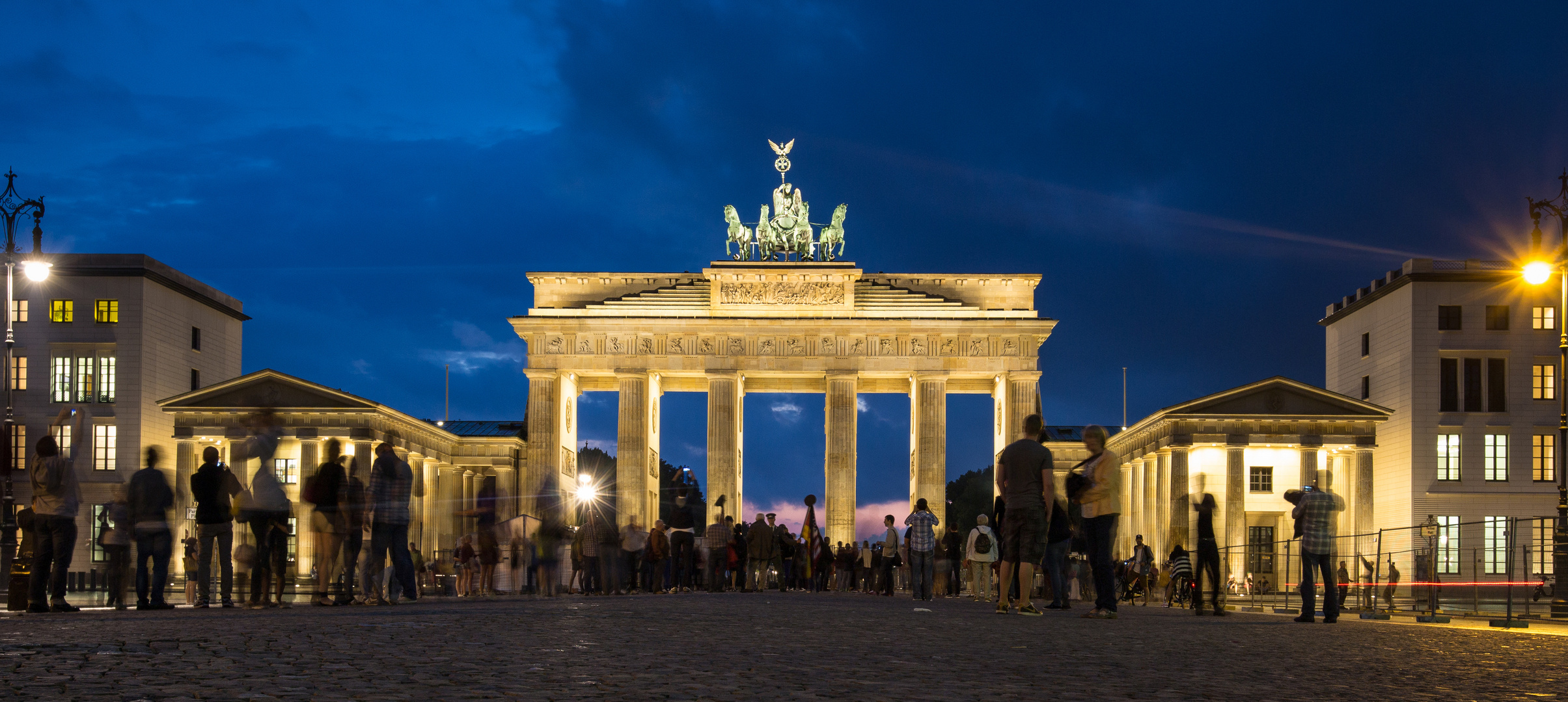 Brandenburger Tor am Abend