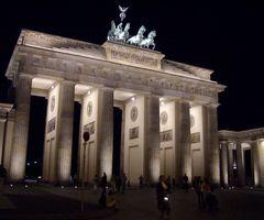Brandenburger Tor bei Sommernacht