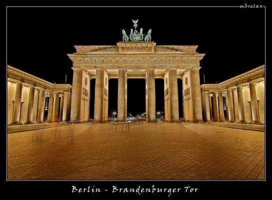 Brandenburger Tor - Berlin I