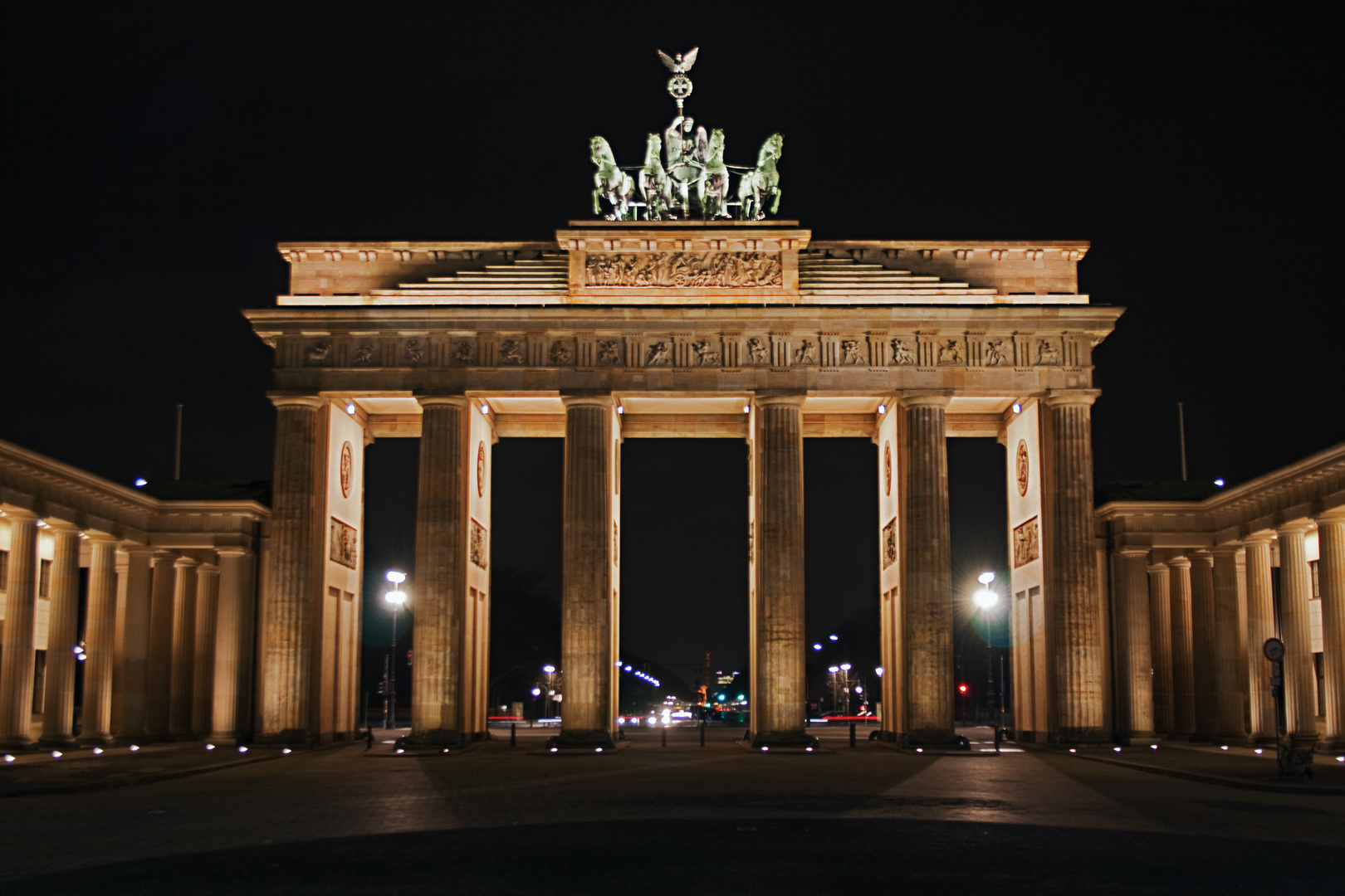 Brandenburger Tor by night