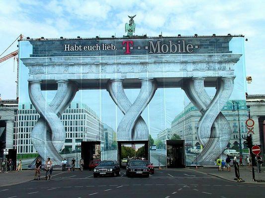 Brandenburger Tor einmal anders