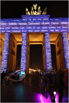 Brandenburger Tor - Festival of LIghts 2013