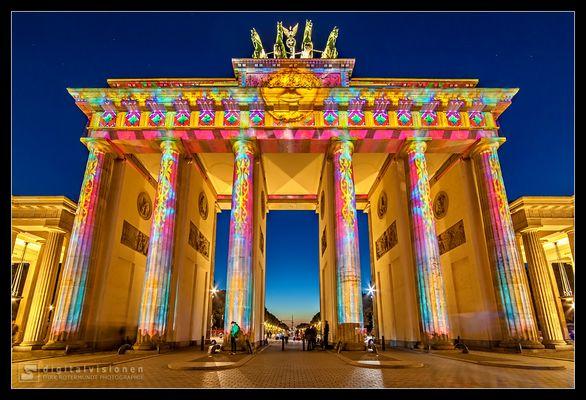 Brandenburger Tor (Festival of Lights 2015)