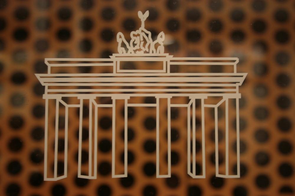 Brandenburger Tor - gepunktet