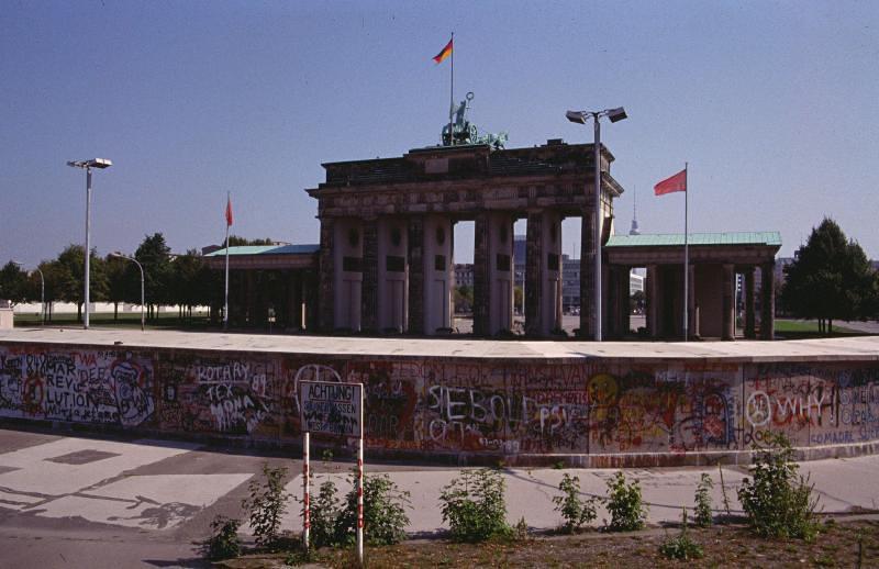 Brandenburger Tor im August 1989
