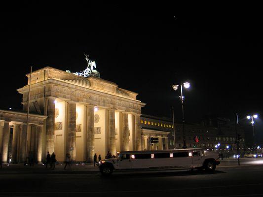 Brandenburger Tor im Oktober 2010