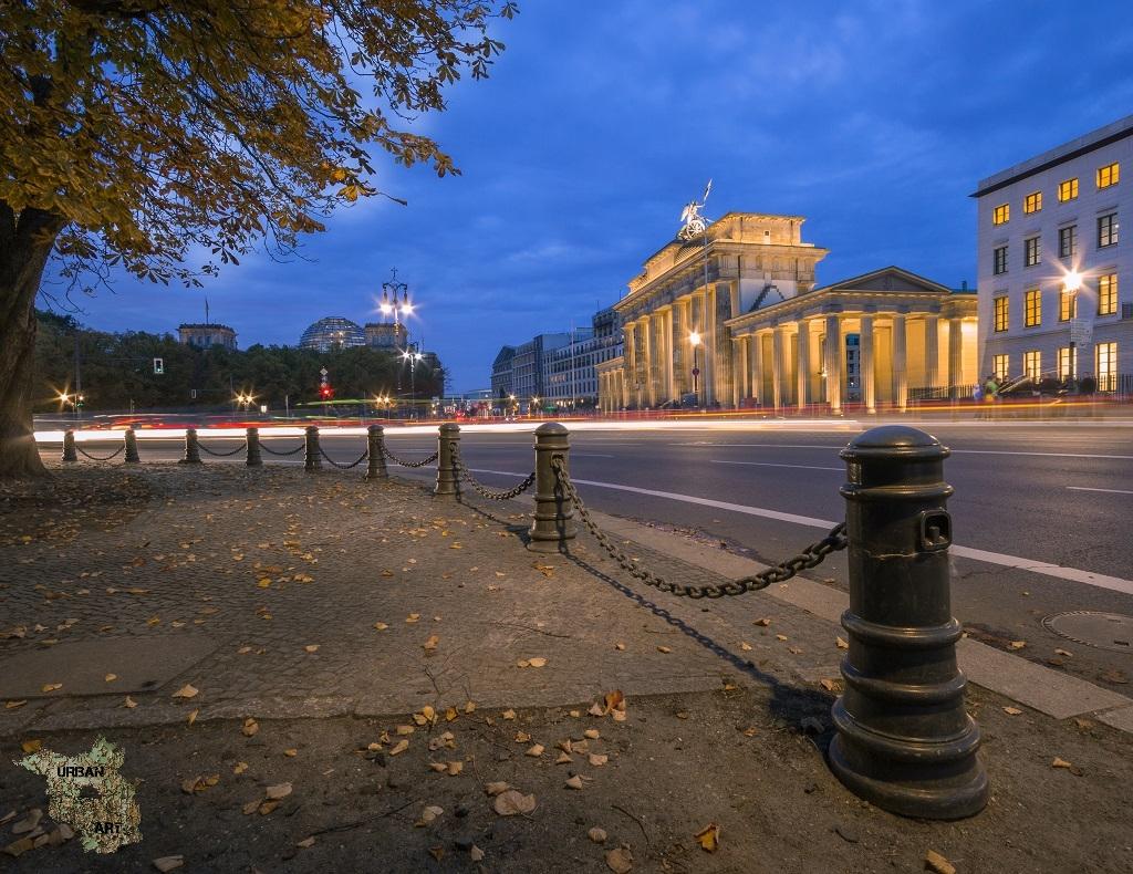 Brandenburger Tor in der blauen Stunde