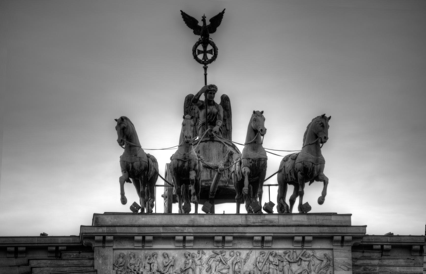 Brandenburger Tor Quadriga Berlin