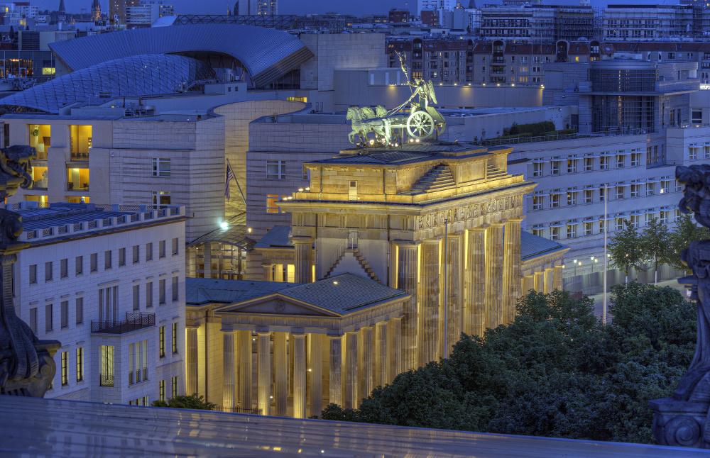 Brandenburger Tor Reichstagsblick