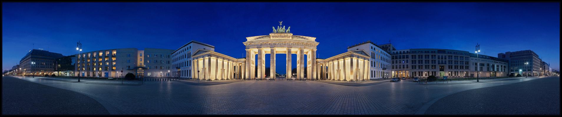 Brandenburger Tor von Berlin