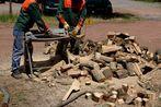 brandholz wird angefertigt - für 1,02 eur