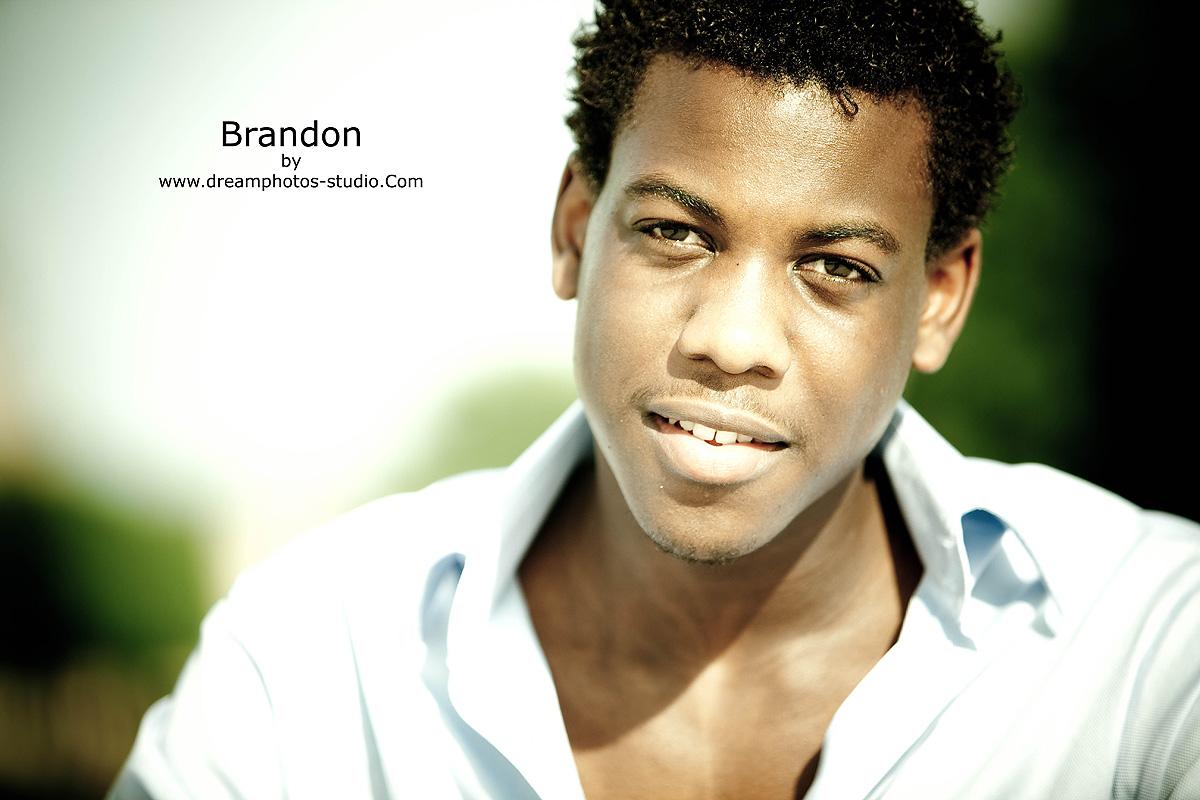 Brandon pour son premier shooting [1]