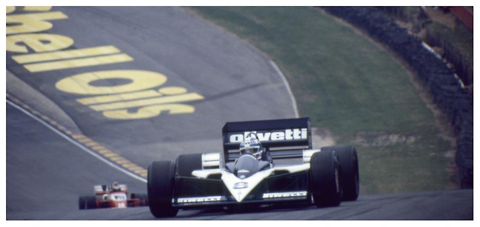 Brands Hatch 1986: Derek Warwick im Brabham BT55