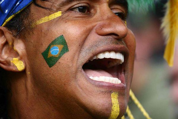 Brasilien Fan