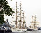 "Brasililanisches Segelschulschiff "" NVE CISNE BRANCO """
