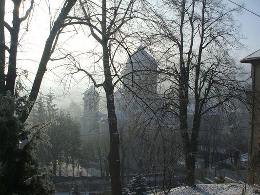BRASOV (KRONSTADT)-Ortodox Kirche in der Alt Stadt