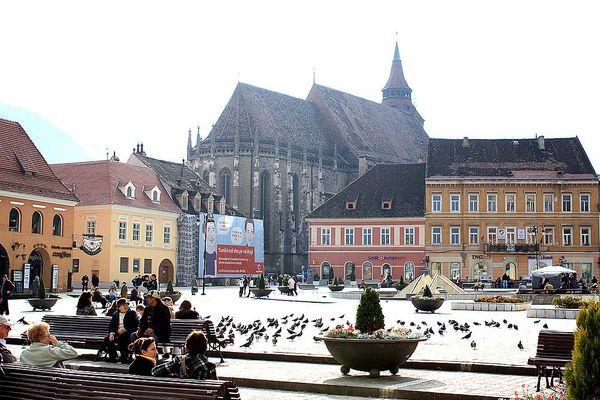 Brasov (Kronstadt) und die Schwarze Kirche