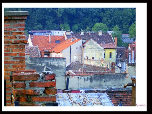 Brasov, old city
