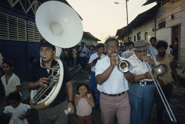 Brassband in Nicaragua.