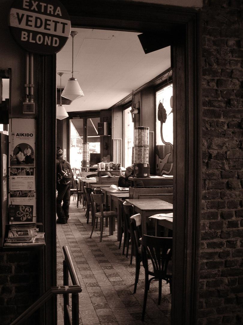 Brasserie de l'uinion (Saint Gilles) oder der Kaffee danach