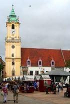 Bratislava: das alte Rathaus