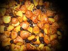 Bratkartoffel (rote mit Schale) aus dem Ofen