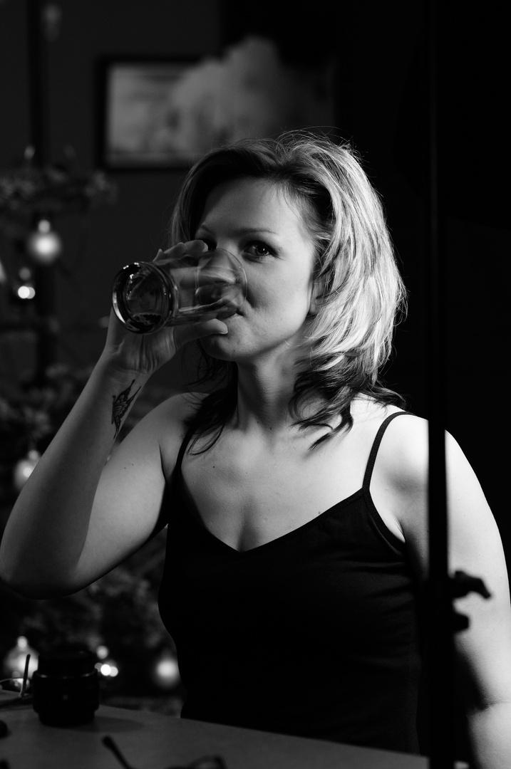 Brauche mal was zu trinken...