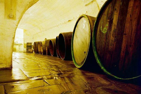BrauereiBierfässer