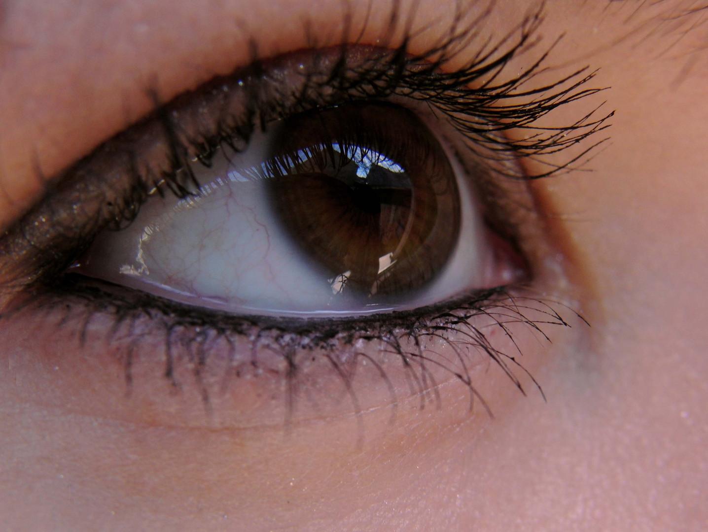 braune Augen...