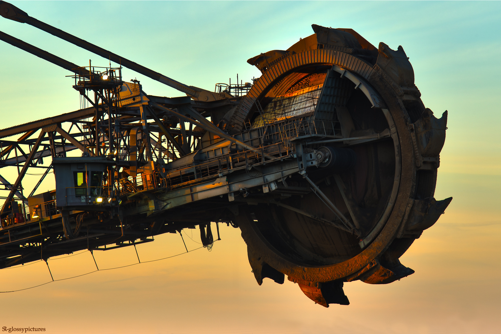 Braunkohlebagger - Tagebau Inden