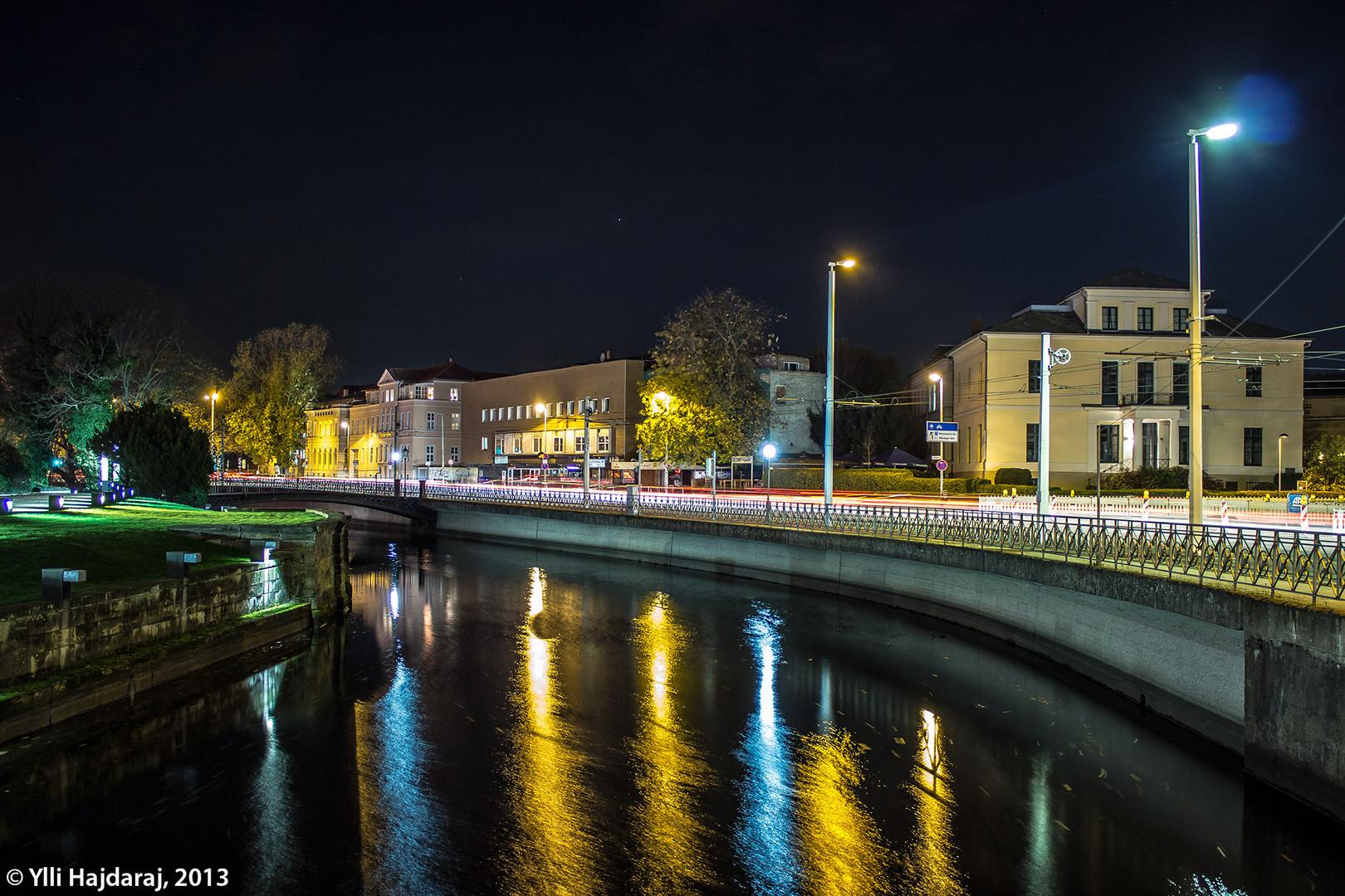 [Braunschweig] Friedrich-Wilhelm-Platz am Abend