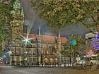 Braunschweiger Rathaus bei Nacht