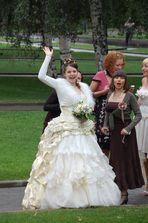Braut in Moskau