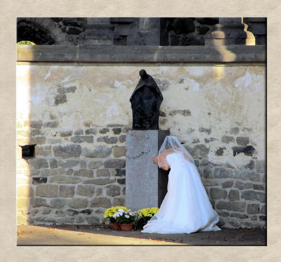 Braut schau(t)
