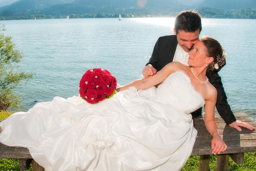 Brautpaar am Tegernsee