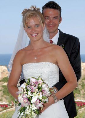 Brautpaar auf Kreta