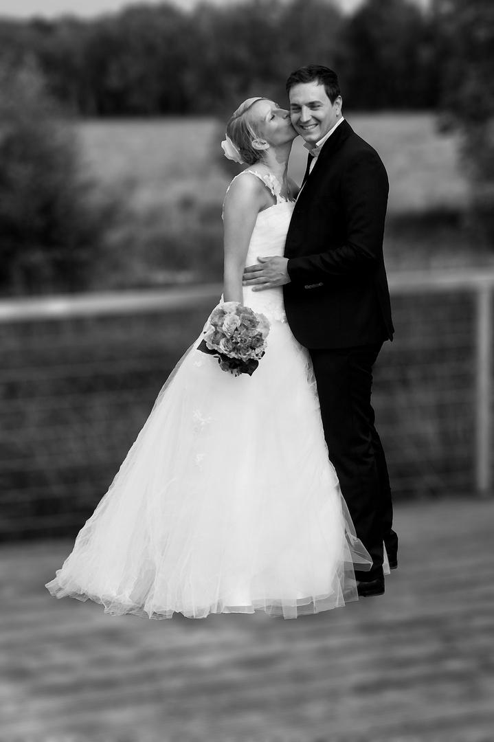 Brautpaar die 1